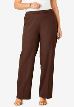 Bend Over® Wide-Leg Pant, RICH BROWN