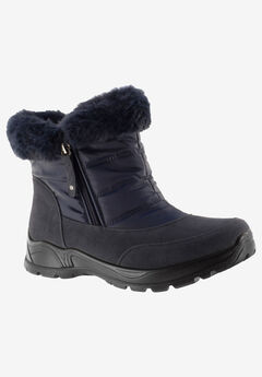 Frosty Bootie by Easy Street, NAVY
