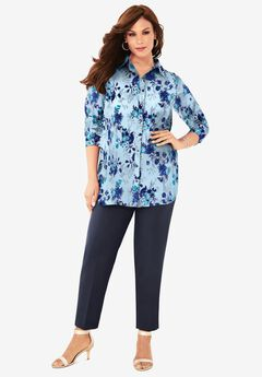 Georgette Big Shirt,
