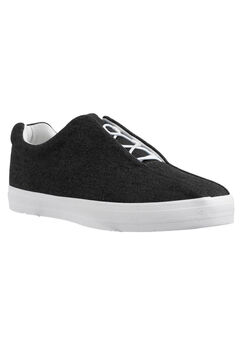 The Bungee Sneaker by Comfortview®, BLACK