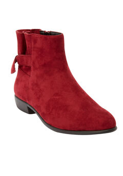 The Penni Bootie by Comfortview®, RICH BURGUNDY
