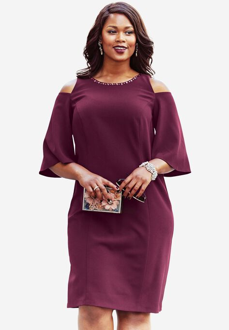 5cefa024b65c8 Jewel Embellished Dress