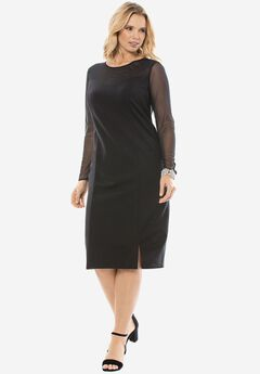 Tulle Sheath Dress,