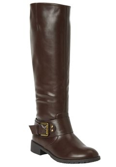 Peggy Wide Calf Boot by Comfortview®,