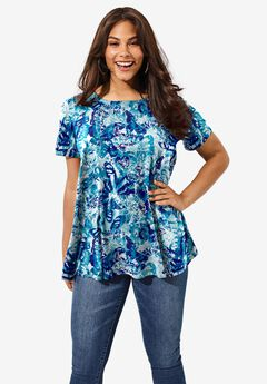 Swing Ultimate Tee with Keyhole Back,