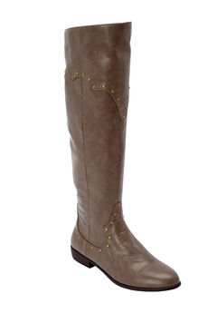 The Sirena Wide Calf Boot by Comfortview®,