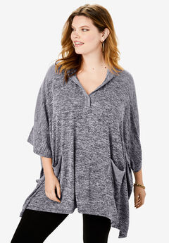 Supersoft Hooded Poncho,