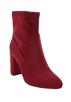 The Sus Bootie by Comfortview®, RICH BURGUNDY