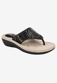 Cienna Sandal by Cliffs by White Mountain,