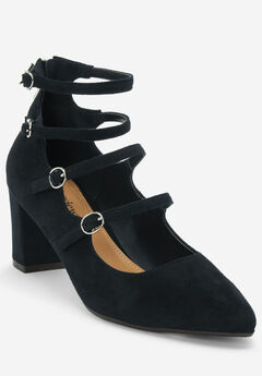 The Deanna Pump by Comfortview®, BLACK
