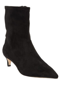 The Mena Bootie by Comfortview®, BLACK