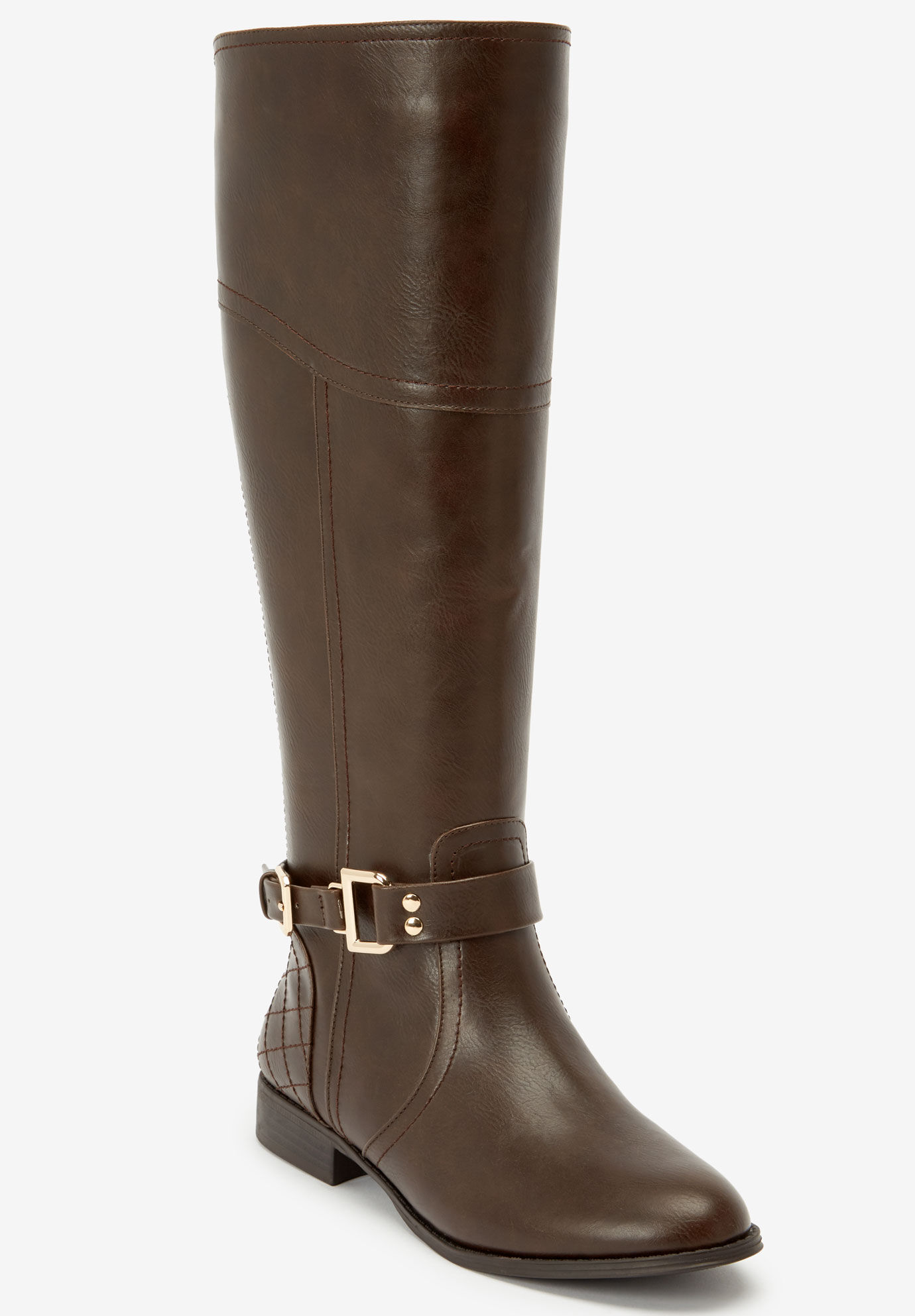 The Milani Wide Calf Boot by Comfortview®