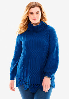 Cable Sweater by Denim 24/7®,