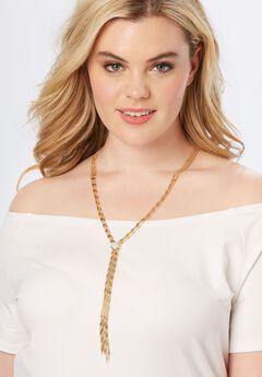 Chain Tassel Necklace,