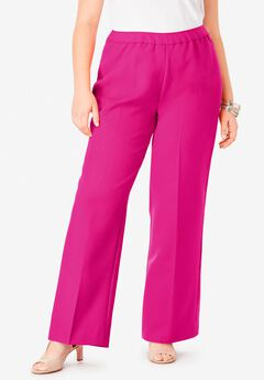 Wide-Leg Bend Over® Pant, VIVID PINK