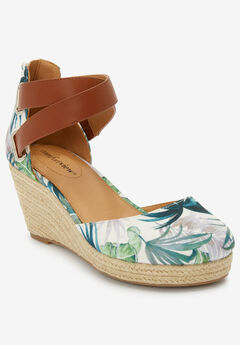 Trixie Espadrille Sandal by Comfortview®,