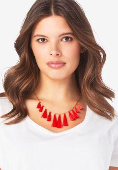 Tassel Necklace,