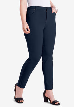Skinny 5-Pocket Ultimate Ponte Pant, TRUE NAVY