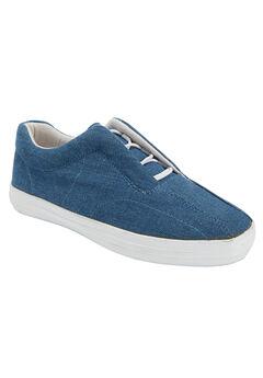 The Bungee Sneaker by Comfortview®, DENIM