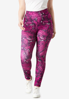 Performance Legging with Wide Waistband,