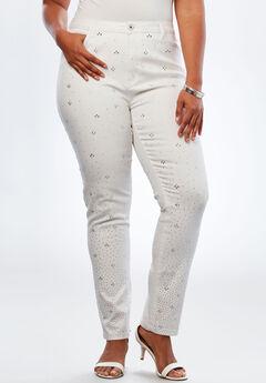 Crystal Skinny Jean by Denim 24/7®,