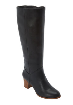 The Ayana Wide Calf Boot by Comfortview®,