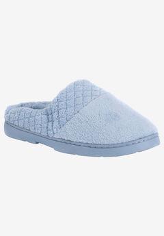 Micro Chenille Slipper Clogs by Muk Luks®, BLUE