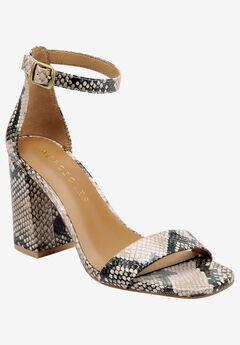 Long Beach Sandal by Aerosoles Platinum,