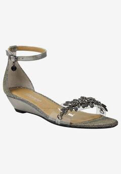 Eviana Sandal by J.Renee®, PEWTER