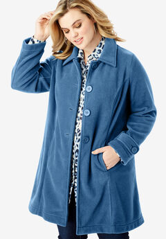 Plush Fleece Jacket,