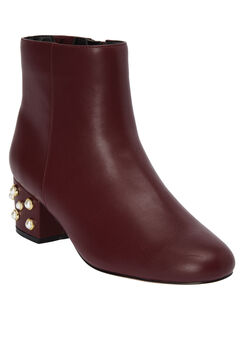 The Via Bootie by Comfortview®, BURGUNDY