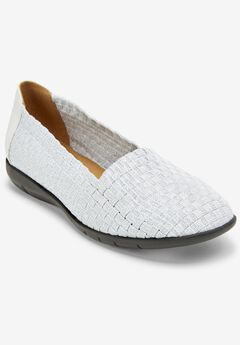 The Bethany Flat by Comfortview®, WHITE