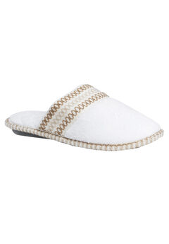 Cathy Closed Toe Slippers by Muk Luks®, LILY WHITE