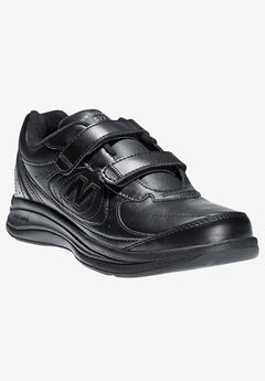 The 577 Hook & Loop Sneaker by New Balance®, BLACK