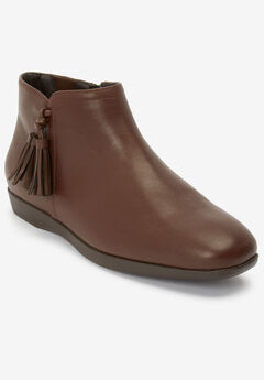The Angelia Bootie by Comfortview®, BROWN