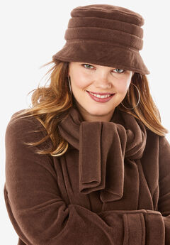 Fleece Hat, RICH BROWN