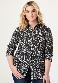 Three-Quarter Sleeve Kate Shirt,