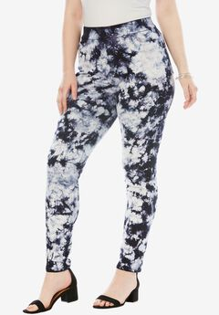 The No-Gap Jegging by Denim 24/7®, TIE DYE PRINT