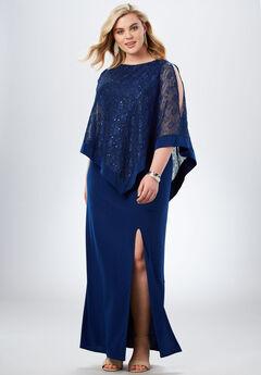 Sequin Popover Dress,