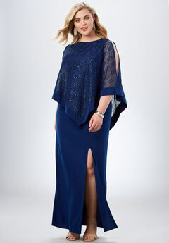 Sequin Popover Dress,