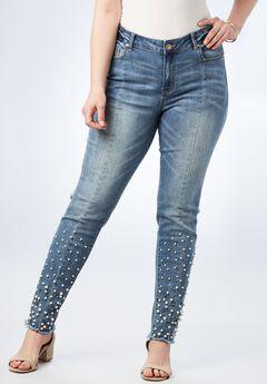 Pearl Skinny Jean by Denim 24/7®,