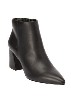 The Jasmine Bootie by Comfortview®, BLACK