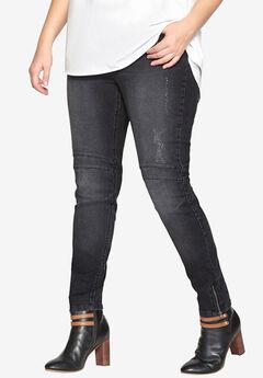 Moto Skinny Jean by Castaluna,