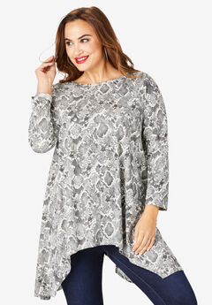 Handkerchief Hem Ultimate Tunic,