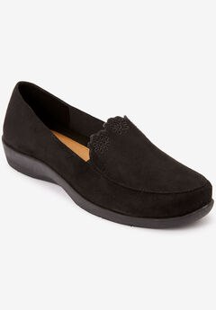 The Anwen Flat by Comfortview®, BLACK
