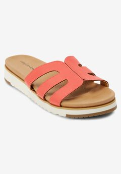 The Gracia Footbed Sandal by Comfortview®,