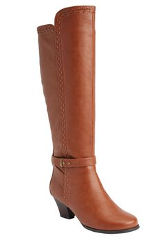 Eloise Wide Calf Boot by Comfortview®,