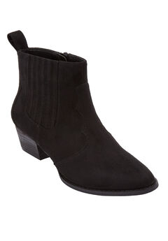 The Kerra Bootie by Comfortview®, BLACK