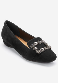 The Paz Flat by Comfortview®, BLACK