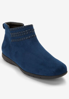 The Farren Bootie by Comfortview®, DARK DENIM